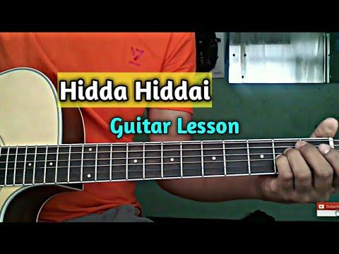 Hidda hiddai  Guitar lesson  1974ad