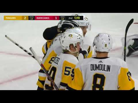 Pittsburgh Penguins vs Carolina Hurricanes - February 23, 2018 | Game Highlights | NHL 2017/18