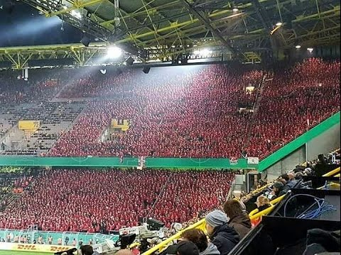 amazing 12 000 fans of union berlin in dortmund 26 10 2016 youtube. Black Bedroom Furniture Sets. Home Design Ideas