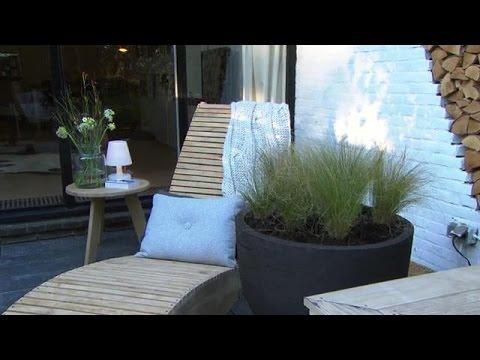 Rust In De Stadstuin Eigen Huis Tuin Youtube