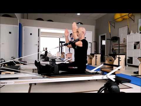 PILATES REFORMER. ARM-WORK. STUDIO PILATES LUGO