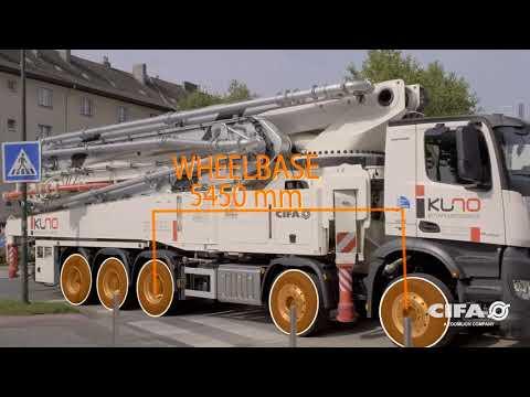 Самый современный АВТОбетононасос CIFA Carbotech K60H RUKKI