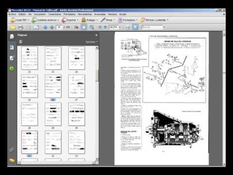 mercedes w124 manual de servicio taller reparacion youtube rh youtube com Mercedes-Benz Manual Trans mercedes vito manual de taller