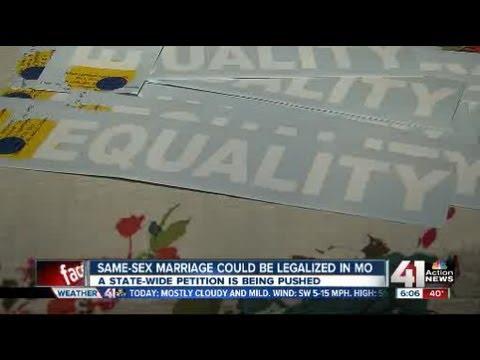 Push For Gay Marriage Legislation In Mo.
