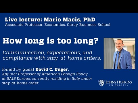 How Long Is Too Long: Communications & Stay-at-home Orders
