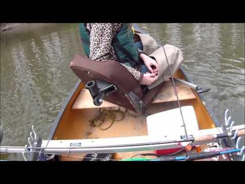 Western New York small creek pike fishing 5/18/16
