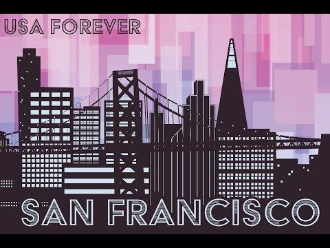 San Francisco Skyline - Adobe Illustrator Speedpaint