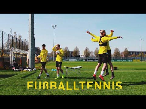 BVB Football Tennis   Miniature Table Edition   Weigl & Schmelzer vs. Wolf & Toprak