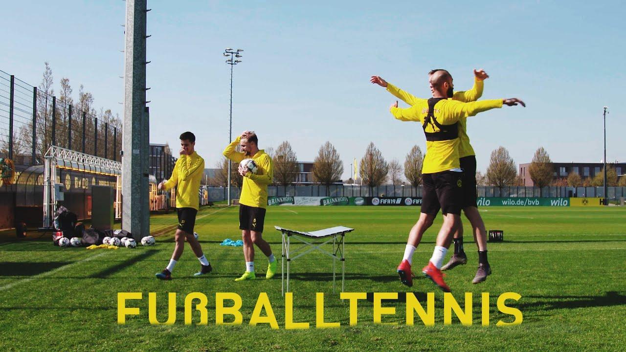 BVB-Fußballtennis - Klapptisch Edition   Weigl & Schmelzer vs. Wolf & Toprak