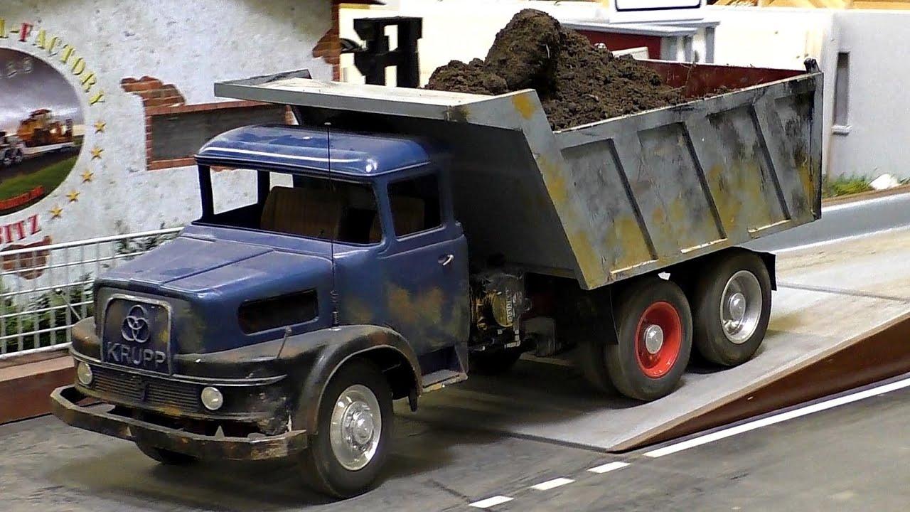 nice rc scale 1 8 oldtimer model truck lkw krupp ak 380. Black Bedroom Furniture Sets. Home Design Ideas