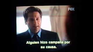 Escena de The X Files.