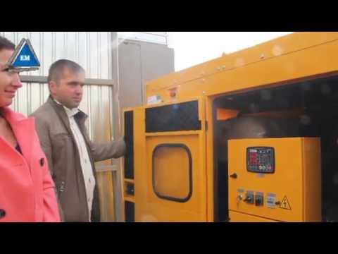 Дизель генератор 30 кВт в контейнере ПБК 3 Север - YouTube
