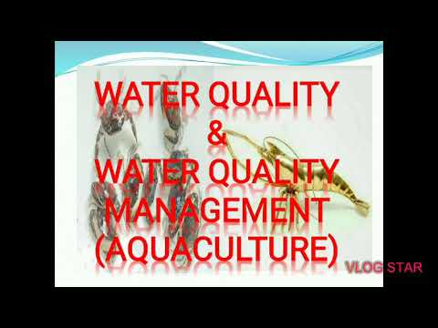 Most Important Water Quality And Water Quality Management In Aquaculture (Hindi And English)