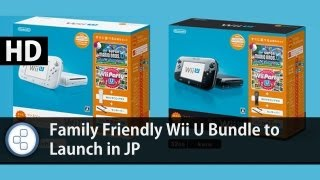 News: Family Friendly Wii U Bundle to Launch in JP