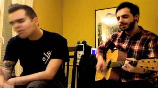 Oscar (Jaula de Grillos) y Sergio (Everlyn) - As long as you love me BSB ACOUSTIC COVER.