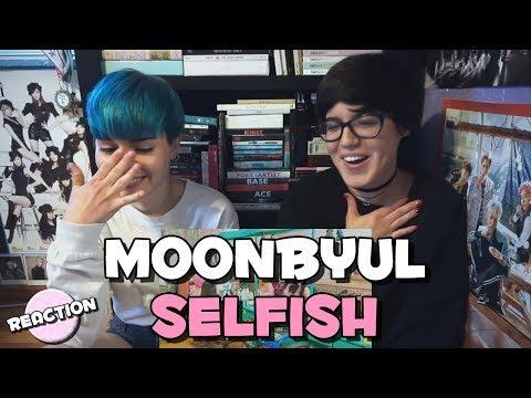 MOONBYUL (문별) - SELFISH (FEAT. SEULGI (슬기) ★ MV REACTION