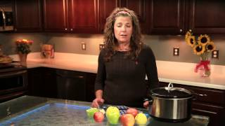 Easy Crock-pot Recipe For Apple Butter : Healthy Ways To Prepare Apples