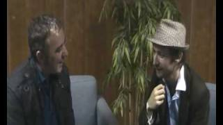 The Divine Comedy Q Music Club At Hard Rock Cafe Neil Hannon interviewed by Brian Morrison