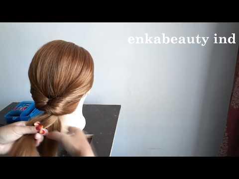 Tutorial Sanggul Modern Sederhana Untuk Pemula (easy Hairstyle For Beginner)