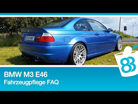 bmw m3 csl felgen e46 car wash grundlagen der autopflege fahrzeugpflege faq handw sche youtube. Black Bedroom Furniture Sets. Home Design Ideas