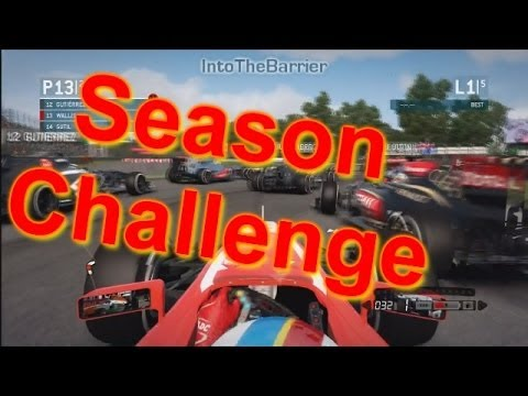 F1 Game 2013 - Season Challenge: Episode 1