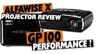 ALFAWISE X Review: HD Budget Projector tan barato como o Vivibright GP100?