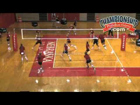 All Access Nebraska Volleyball Practice with John Cook