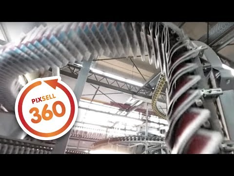 360 VIDEO: Inside The Printing Press of Croatian daily newspaper Vecernji list