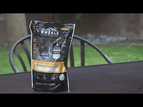 First Impressions: Omeals Self-Heating Meal