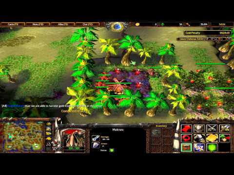 Warcraft 3 TFT - Island Defense #1