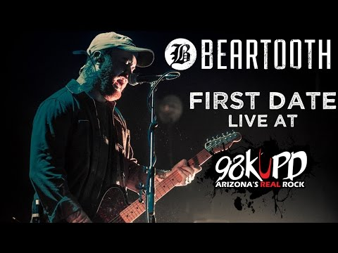 Beartooth Peforming First Date Live At 98...