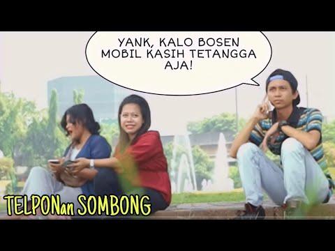 Image of TELPONAN SOMBONG DISAMPING ORANG | Prank Indonesia