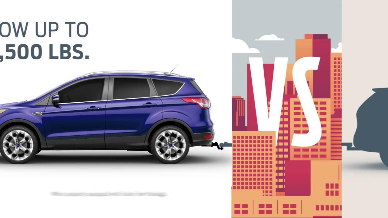 Compare the 2016 Ford Escape vs the 2016 Nissan Rogue - YouTube