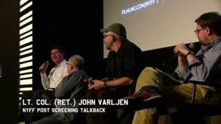 Charlie Victor Romeo @ NYFF Talkback w/Lt. Col. (Ret.) John Varljen