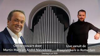 Concert Martin Mans en André Nieuwkoop