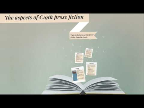 Typical features of C19th prose