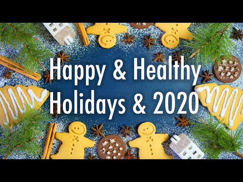 Happy Healthy Holidays & 2020 �� Free Giveaways!