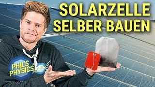 Solarzelle aus Tee selber bauen! Grätzelzelle einfach erklärt! Fast Forward Science 2017
