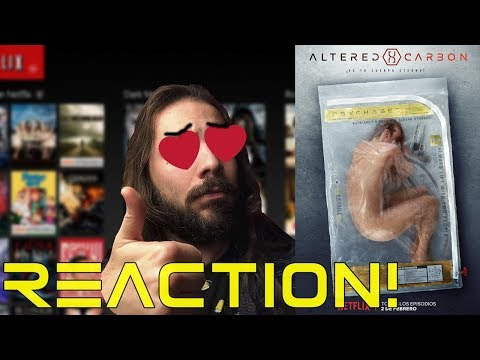 ALTERED CARBON - FINAL TRAILER REACTION - NETFLIX - 2018
