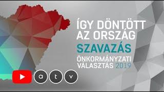 Önkormányzati választások 2019 - Így döntött az ország | ÉLŐ (2/2)