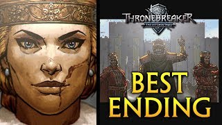 Thronebreaker: Witcher Tales ► THE BEST ENDING - Meve and Villem Rule Together, Gascon Dies (GWENT)