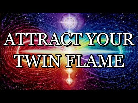 528 Hz – ATTRACT YOUR TWIN FLAME – Meditation Music (With Subliminal Affirmations)