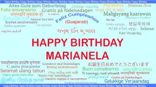 Marianela   Languages Idiomas - Happy Birthday