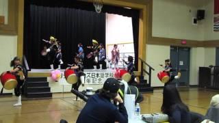 2016年1月17日, CanadaのMaple Ridge での演舞。 Jan. 17, 2016 Okinawa...