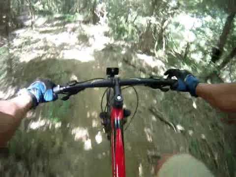 The Beast bike trail in St Francisville, LA