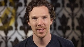Benedict Cumberbatch Message - #SDCC - Sherlock