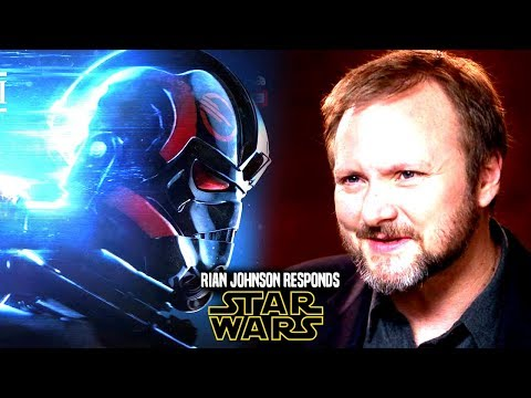 New Star Wars Trilogy! Rian Johnson Responds Again! (Star Wars News)