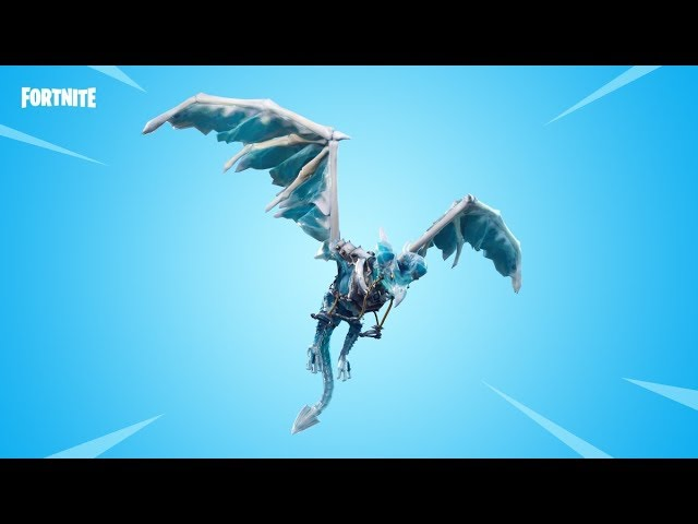 BRAND NEW FROST WING GLIDER IN FORTNITE