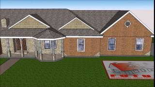 Custom House Plans 3d-sketchup