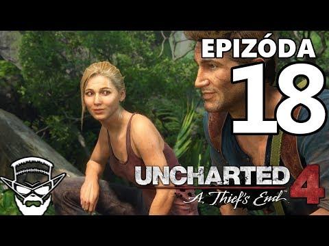 POD PAPUČOU ! - Uncharted 4: A Thiefs End / 1080p 60fps / CZ/SK Lets Play / # 18